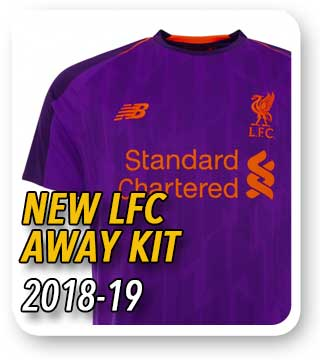 Official LFC Away Kit 2018/19