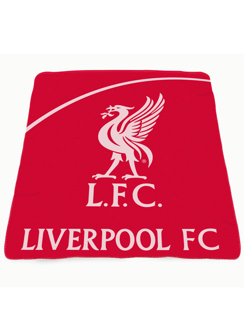 Liverpool FC Crest Fleece Blanket