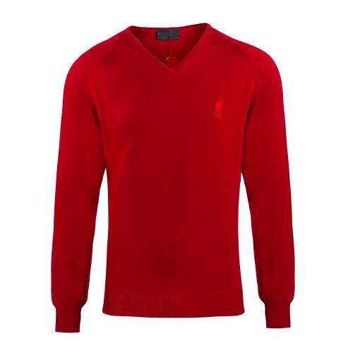 LFC Signature Collection Red V Neck Jumper
