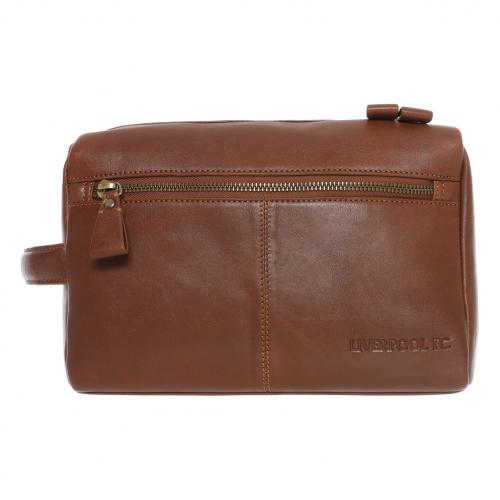 LFC Brown Signature Washbag