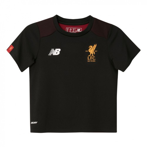 Infants/Toddlers Liverpool Black Training Short Sleeve Jersey 17/18