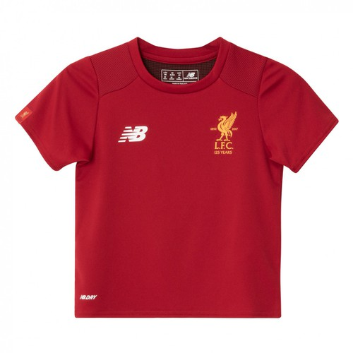 Infants/Toddlers Liverpool Red Training Short Sleeve Jersey 17/18
