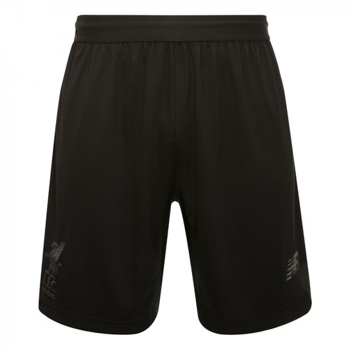 LFC Mens Black Knitted Training Shorts 17/18