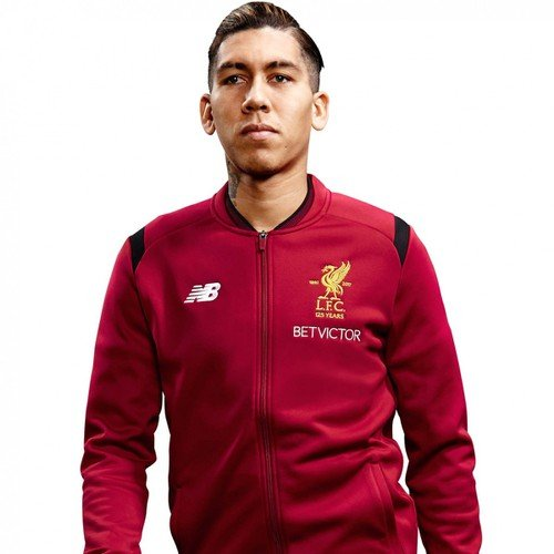 LFC Mens Red Walk Out Jacket 17/18