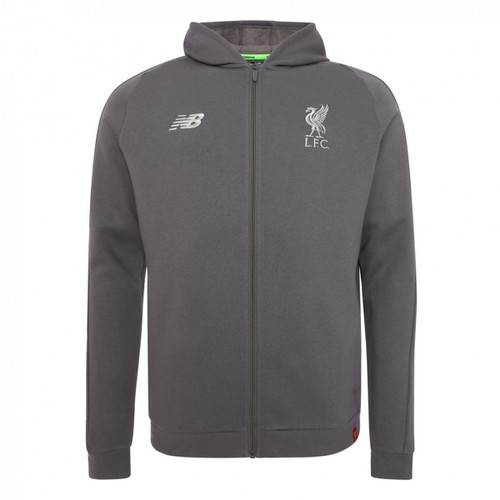 LFC Junior Grey Hoody 18/19