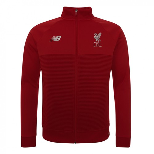 LFC Junior Red Pepper Training Walk Out Jacket 18/19