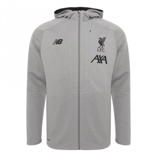 LFC Juniors 19/20 Grey Zip Hoody