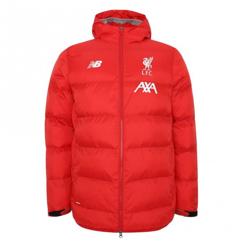 LFC Mens 19/20 Base Hooded Red Jacket