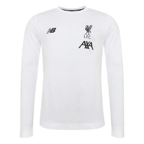 LFC Mens White Long Sleeve Seamless Jersey 2019/20