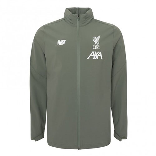 Liverpool Mens 2019/20 Storm Jacket Khaki