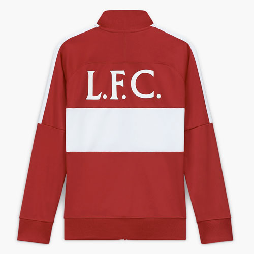 Red LFC Kids Nike Football Jacket