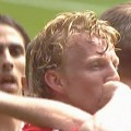 Dirk Kuyt scores against Newcastle at home