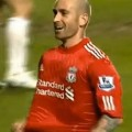 Raul Meireles scores the winner against Chelsea