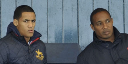 Tom Ince and dad Paul Ince