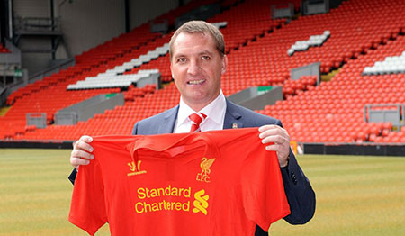 Brendan Rodgers unveiled at Anfield as LFC boss