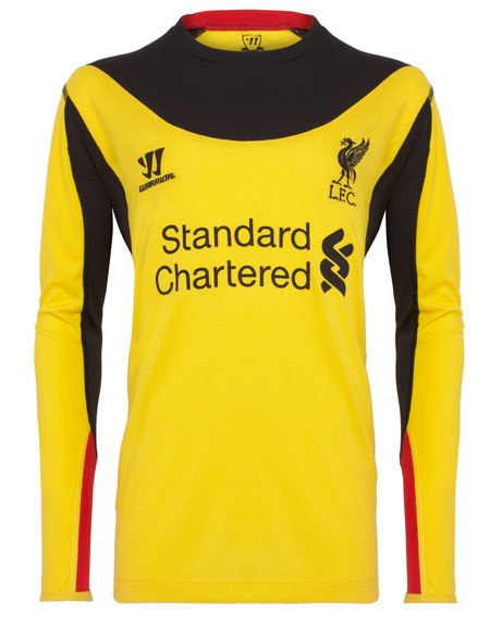 LFC 2012-13 Goalkeeper AWAY Shirt