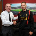Fabio Borini - the new Liverpool FC striker