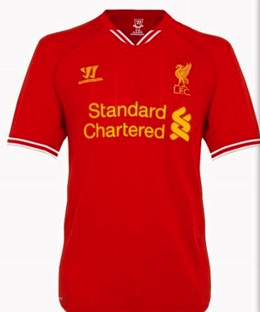 Liverpool Home Shirt 2013-14