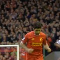 Suarez receives a standing ovation for his hat-trick