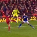 Aspas scores his debut LFC goal against Oldham