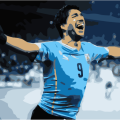 Luis Suarez scores two goals to finish England in the World Cup 2014
