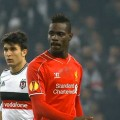 Mario Balotelli in action against Besiktas