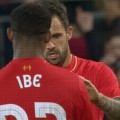 Danny Ings and Jordon Ibe in Adelaide