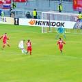 Jordon Ibe scores against Rubin Kazan in front of Liverpool fans