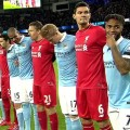 Man City 1-4 Liverpool - players pay tribute to French terrorism victims