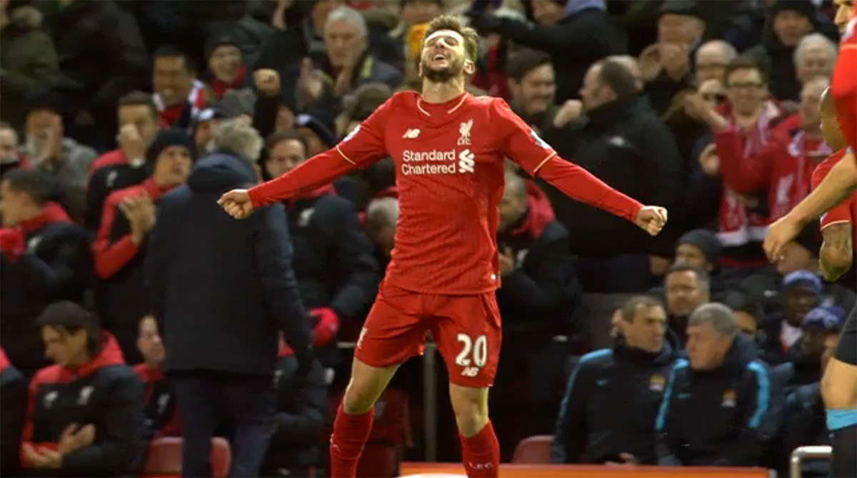 Liverpool midfielder Adam Lallana signs new long-term contract at Anfield
