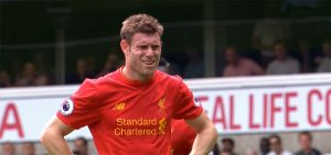 James Milner scores penalty v Spurs