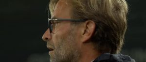 Klopp watches on as the reds beat Derby County