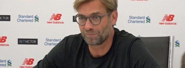Klopp Pre-Match Press Conference video