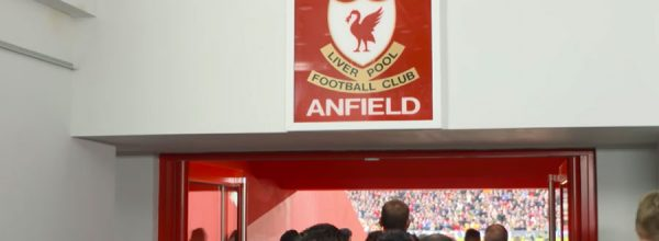 New Main Stand at Anfield - This is Anfield sign