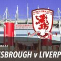LIVE: Middlesbrough v Liverpool