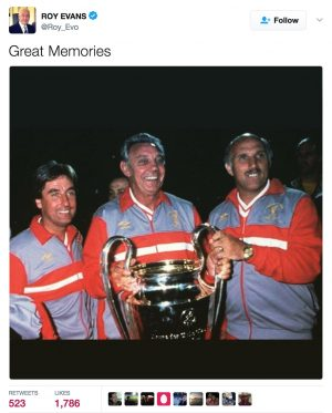 Roy Evans pays tribute to Ronnie Moran