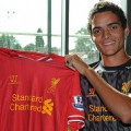 Tiago Ilori signs in at Liverpool FC