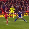 Aspas scores his debut LFC goal against Oldham