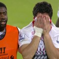 Liverpool's Luis Suarez after the Crystal Palace game