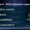 Liverpool have been drawn in Group B for this season's Champions League group, and will face the current European Champions, Real Madrid.