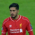 Emre Can in action at the Bernabeu