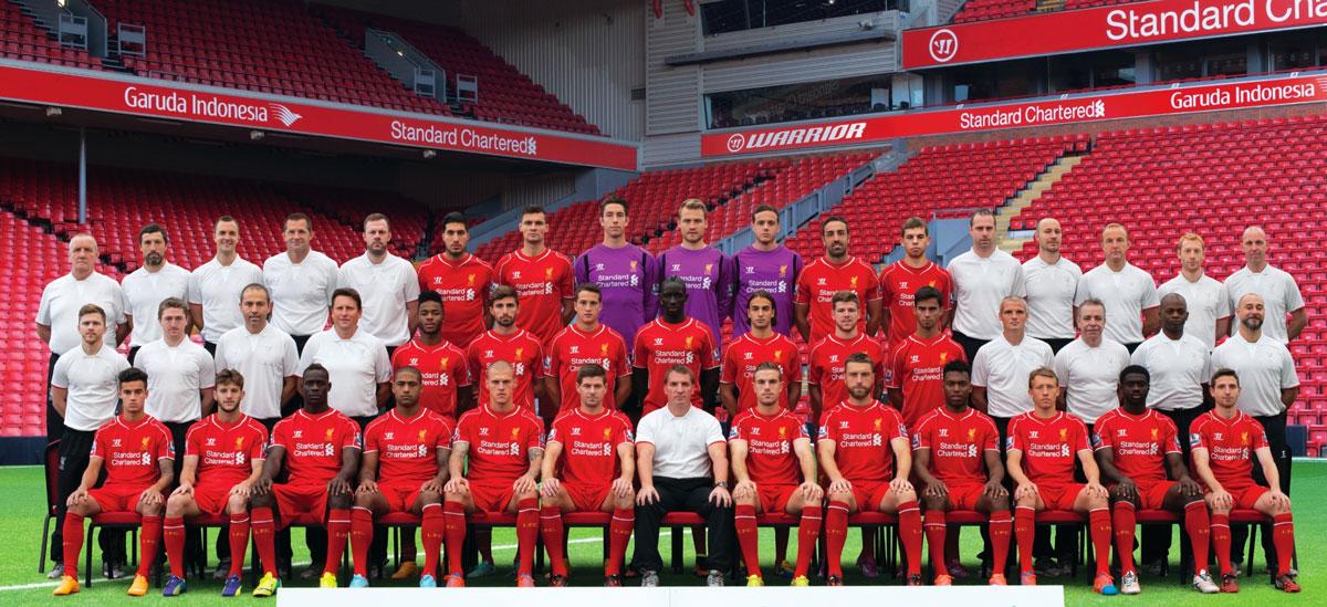 LFC Squad 2014-15