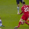 Adam Lallana in action in the Liverpool - Bolton FA Cup 4th Round tie