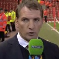 Rodgers post match interview with BT Sport