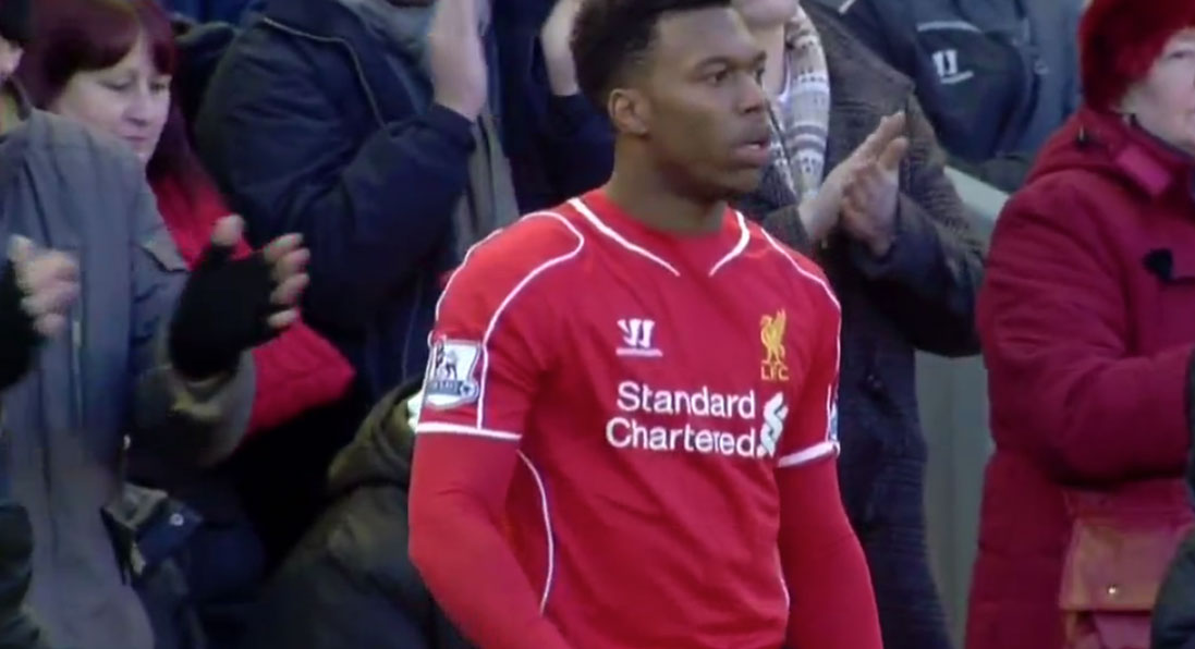 Daniel Sturridge returns to action for Liverpool - and scores against West Ham