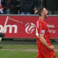Henderson scores the winning goal against Swansea