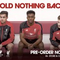 LFC unveil training kits for 2015-16