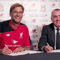 Jurgen Klopp and Ian Ayre