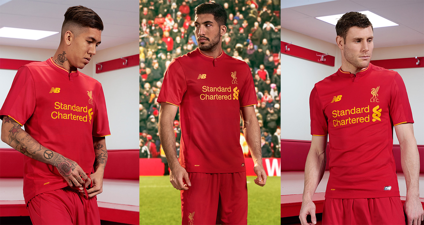 fd33ce00fdd LFC launch new Home Kit for 2016-17 - Anfield Online