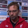 Swansea 3-1 Liverpool (Klopp)